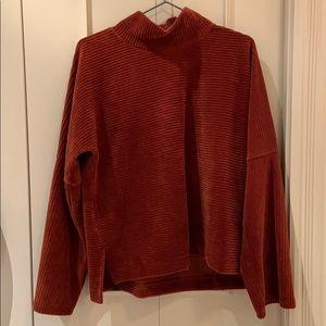 Madewell Velvet Sweater